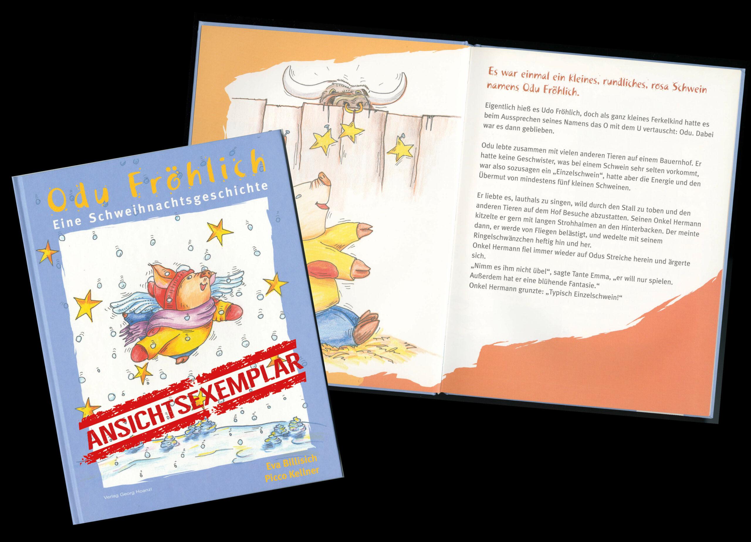 ODU FRÖHLICH – Buch zur Ansicht