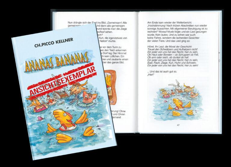 ANANAS BANANAS – Buch zur Ansicht